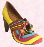 Shoe 5 - A show stopper Mary Jane shoe - Nanny's Treasure - �60 from Office Ladies Collection for Spring 2008.